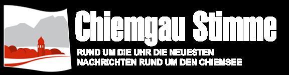 Chiemgau Stimme – Die neuesten Nachrichten rund um den Chiemsee Logo